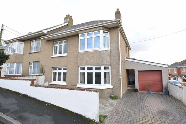 Thumbnail Semi-detached house for sale in Blanchminster Road, Bude, Cornwall