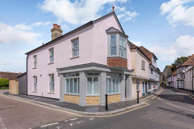Thumbnail End terrace house for sale in Church Street, St Marys, Sandwich, Kent