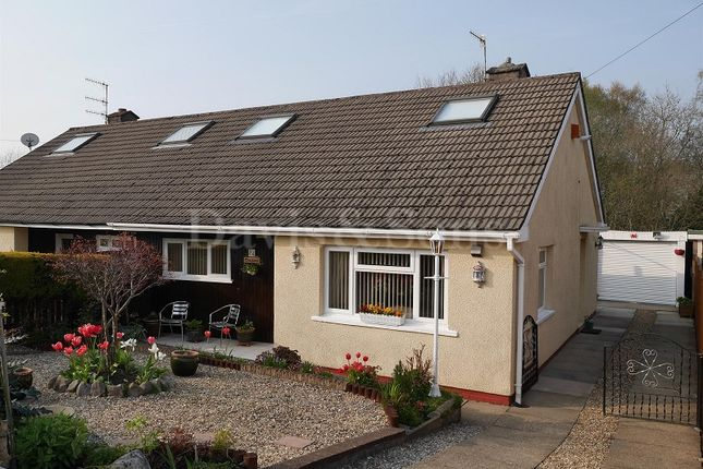 Thumbnail Semi-detached bungalow for sale in Elim Way, Pontllanfraith, Blackwood, Caerphilly.