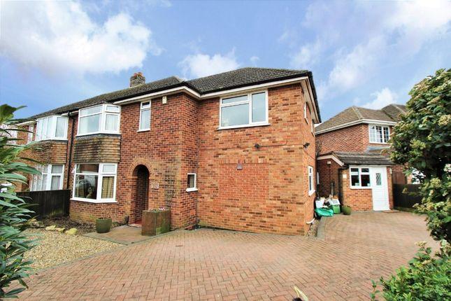Thumbnail Semi-detached house for sale in Longworth Avenue, Tilehurst, Reading