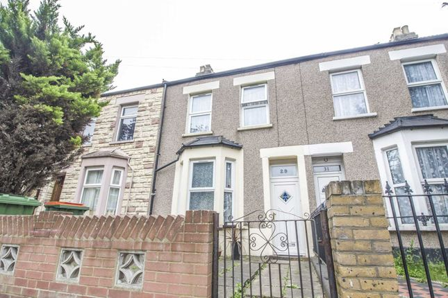 Thumbnail Terraced house for sale in Manor Park Road, London