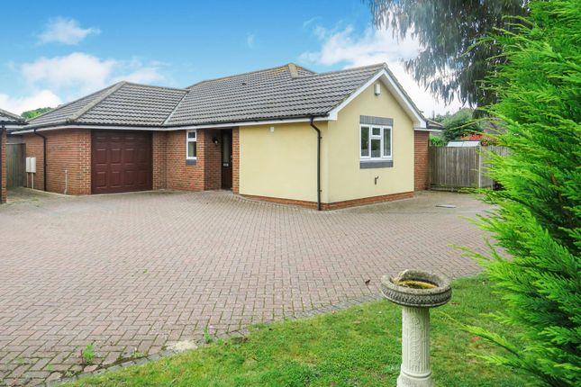 Thumbnail Detached bungalow for sale in Pollys Close, Crossways, Dorchester