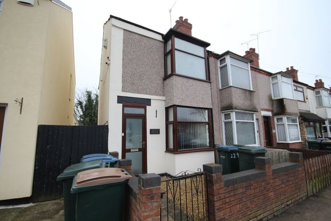 Thumbnail End terrace house for sale in Little Heath Industrial Estate, Old Church Road, Coventry