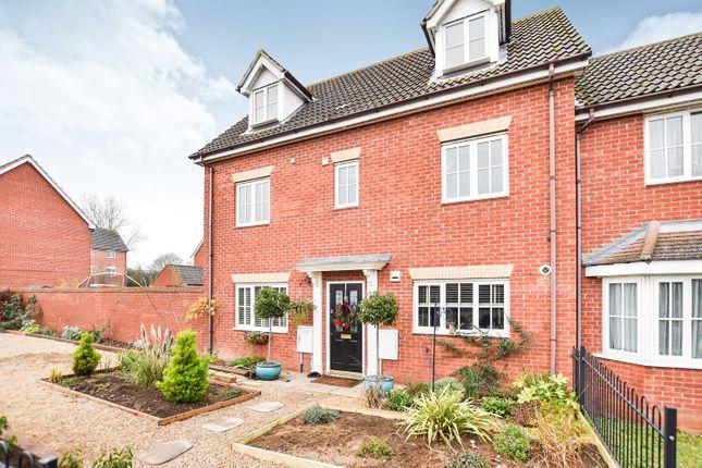 Thumbnail Semi-detached house for sale in Richard Easten Road, Thetford, Norfolk