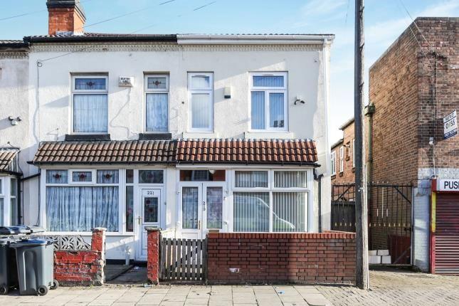 Thumbnail End terrace house for sale in Cherrywood Road, Bordesley Green, Birmingham, West Midlands