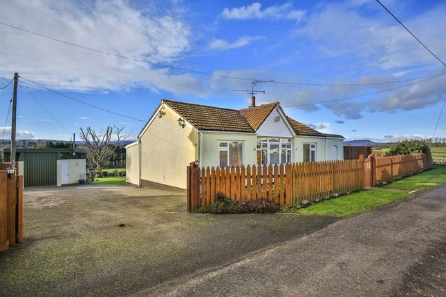Thumbnail Detached bungalow for sale in Raglan, Usk