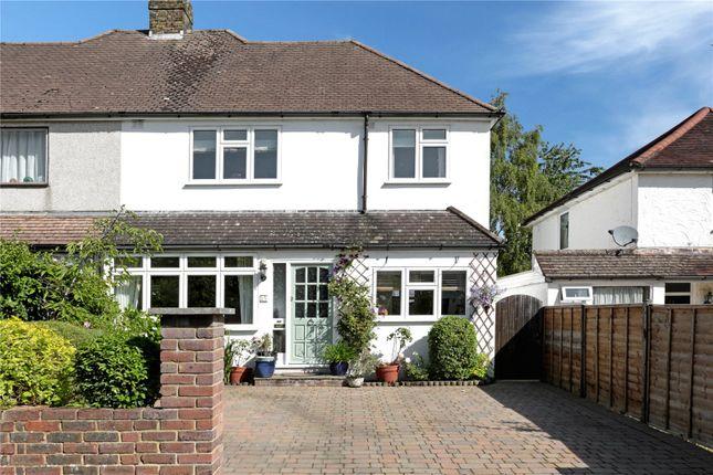Thumbnail Semi-detached house for sale in Bosville Road, Sevenoaks, Kent