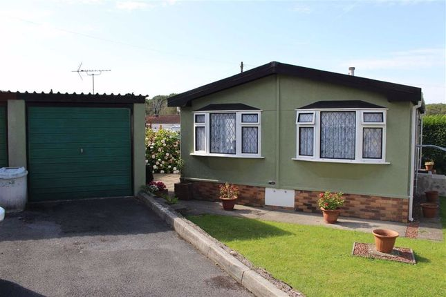Thumbnail 2 bed mobile/park home for sale in Oak Drive, Woodland Park, Waunarlwydd