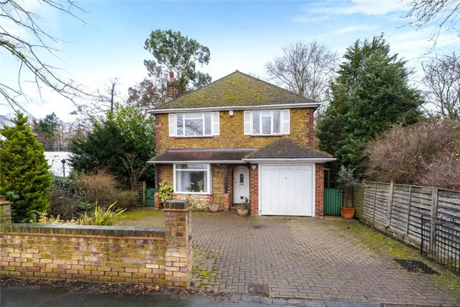 Thumbnail Detached house for sale in Addlestone Road, Addlestone, Surrey