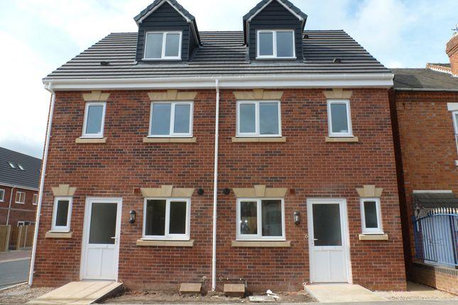 Thumbnail Semi-detached house for sale in Peel Street Villa's, Langley Mill, Nottingham