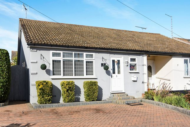 Thumbnail Semi-detached bungalow for sale in Trinity Close, Billericay