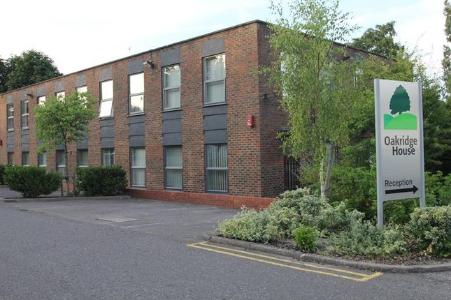 Thumbnail Office to let in Oakridge House, Wellington Road, Cressex Business Park, High Wycombe, Bucks