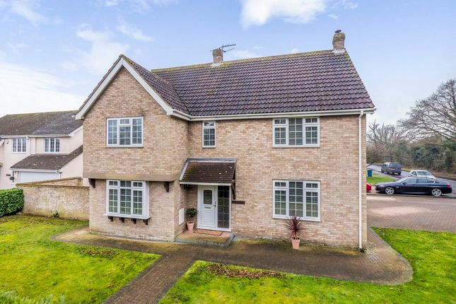 Thumbnail Detached house for sale in Stoke Road, Leavenheath, Colchester