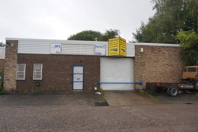 Thumbnail Light industrial for sale in Chancel Industrial, Newhall Street, Willenhall