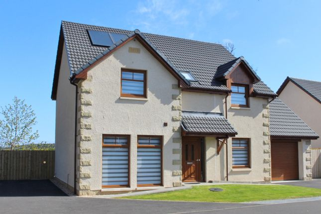 Thumbnail Detached house for sale in Hayley Smith Gardens, Fochabers