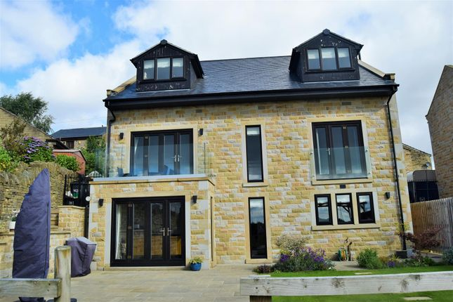 Thumbnail Detached house for sale in School Lane, Southowram, Halifax