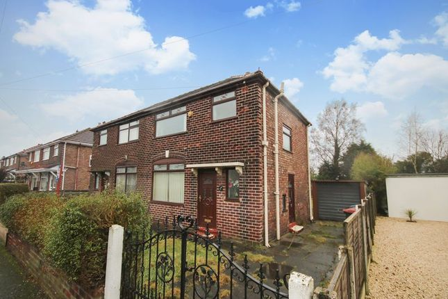 Thumbnail Semi-detached house for sale in Leyland Avenue, Irlam, Manchester
