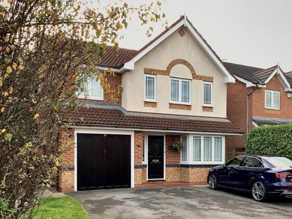 Thumbnail Detached house for sale in Weaver Road, Moulton, Northwich, Cheshire