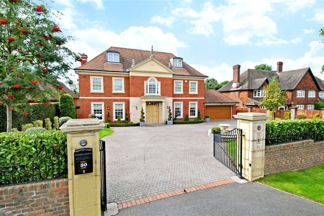 Thumbnail Detached house for sale in Golf Side, Cheam, Surrey
