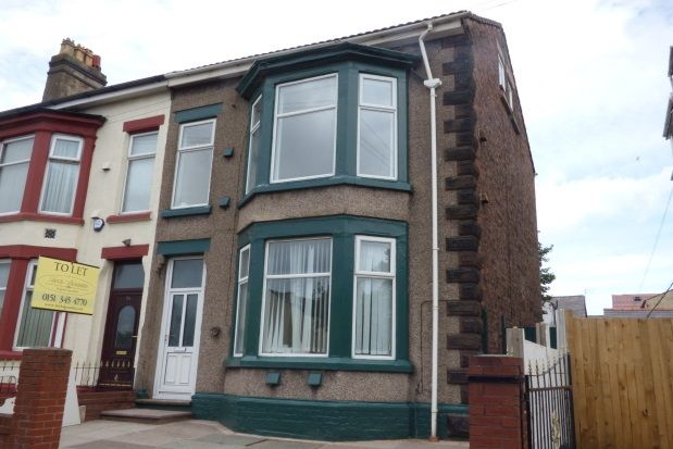 Thumbnail Property to rent in Gordon Road, Litherland