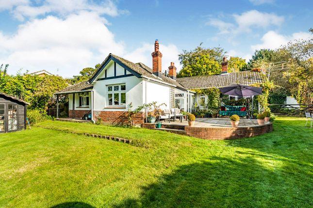 Thumbnail Detached bungalow for sale in Rownhams Lane, North Baddesley, Southampton