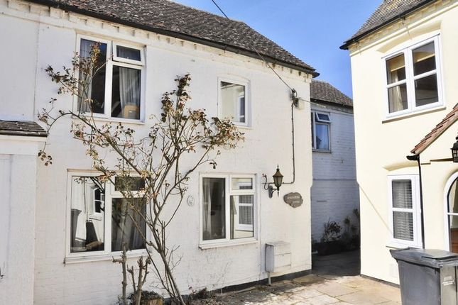 Thumbnail Semi-detached house for sale in Gingerbread Cottage, 2 China Corner, Honeybourne, Evesham