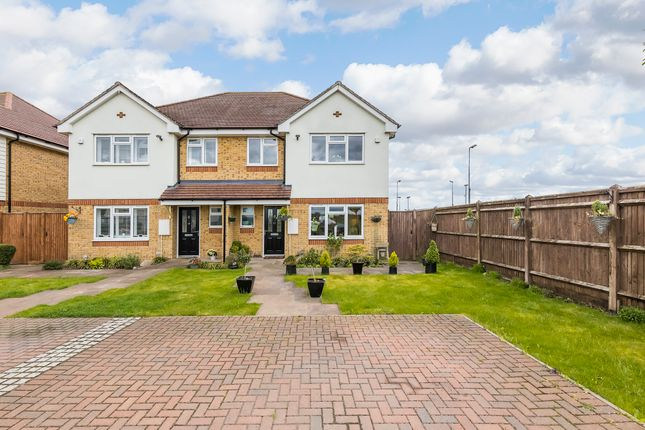 3 bed semi-detached house for sale in Upland Road, Epping CM16