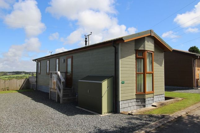Thumbnail Bungalow for sale in Beacon View Globe Vale Holiday Park, Radnor, Redruth