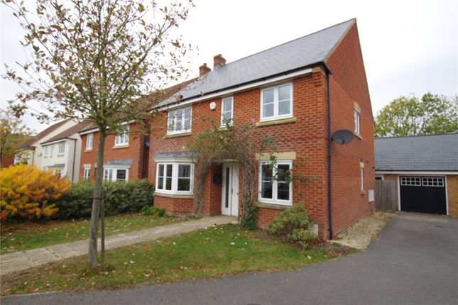 Thumbnail Detached house for sale in Normandy Road, Alexandra Park, Wroughton, Wiltshire
