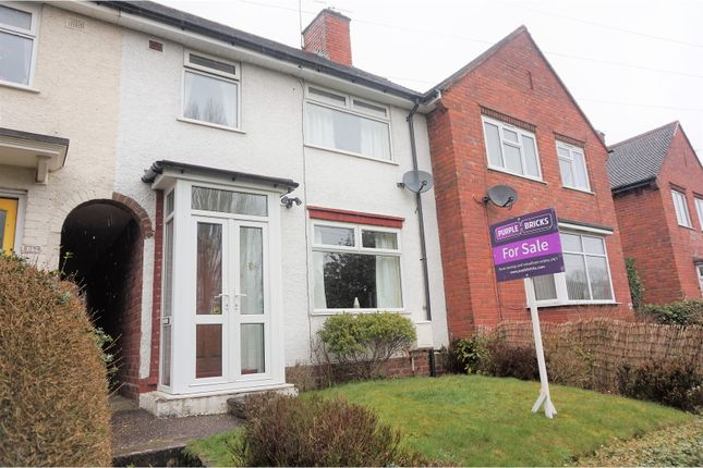 Thumbnail Terraced house for sale in Goodyear Road, Smethwick