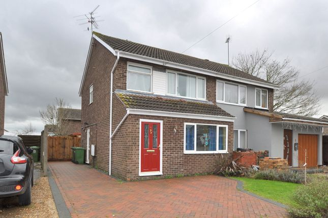 Semi-detached house for sale in Papyrus Way, Sawtry, Huntingdon
