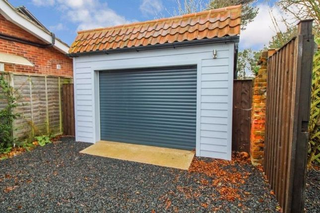 Garage of The Close, Corton, Lowestoft NR32