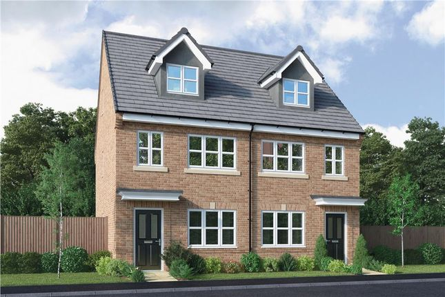 "3 bed semi-detached house for sale in ""Tolkien"" at King Street, Drighlington, Bradford BD11"