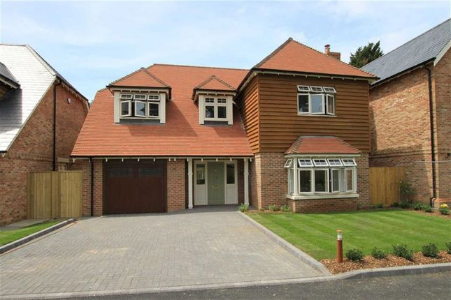 Thumbnail Detached house for sale in Gorse Bank Close, Highcliffe, Christchurch, Dorset