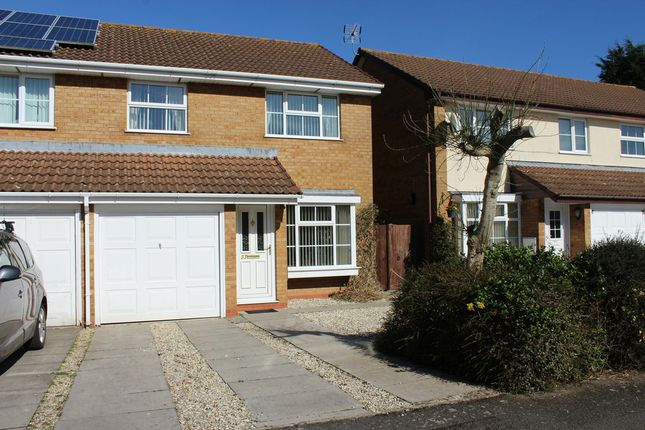 Thumbnail Semi-detached house for sale in Cabot Close, Yate, Bristol