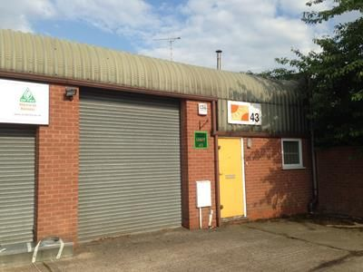 Light industrial to let in Westley Grange, Unit 43, West Avenue, Wigston, Leicestershire