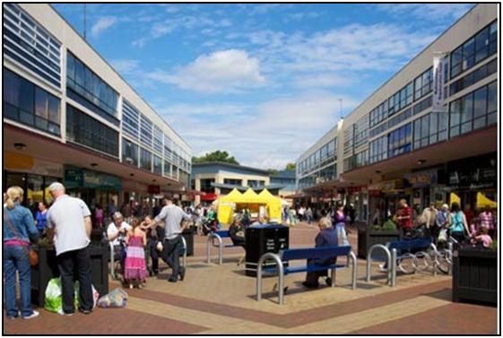 Thumbnail Retail premises to let in The Birtles, Civic Centre, Wythenshawe, Manchester