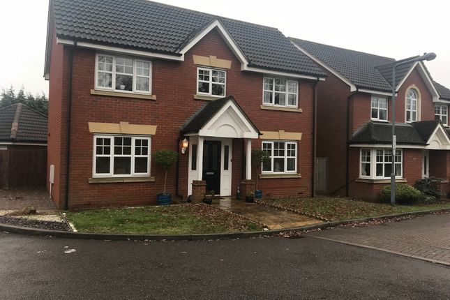 Thumbnail Detached house to rent in Hoverton Way, Chigwell