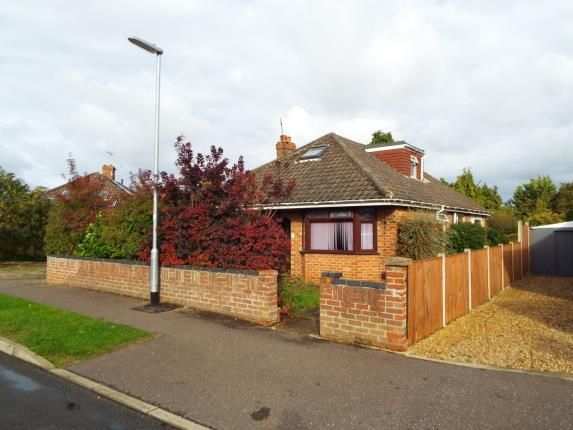 Thumbnail Bungalow for sale in Norwich, Norfolk