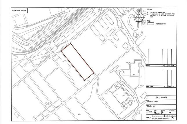 Land to let in Baglan Energy Park Baglan, Port Talbot, Neath Port Talbot