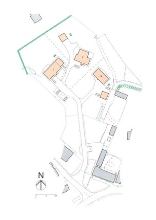 Site Plan of 2 The Orchards, Crosthwaite, Kendal LA8
