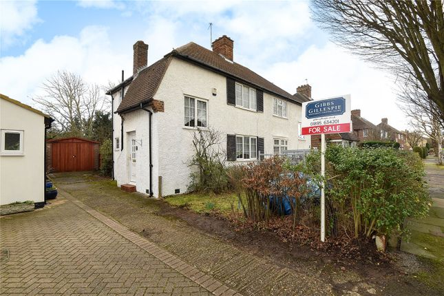 2 bed semi-detached house for sale in Harvey Road, Northolt, Middlesex