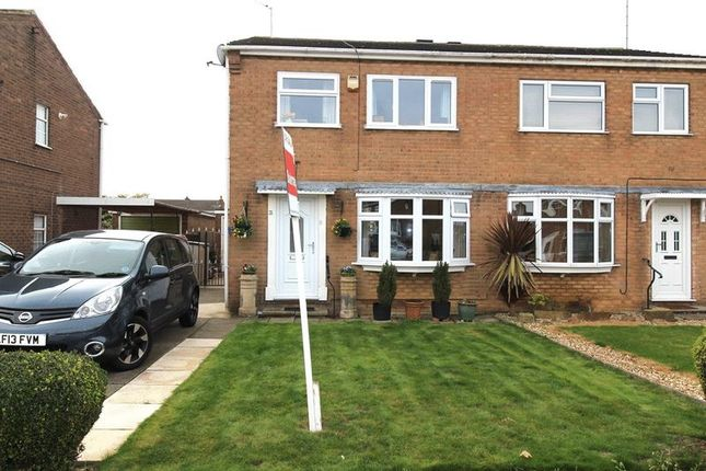 Thumbnail Semi-detached house for sale in Hamilton Drive, Warsop, Mansfield