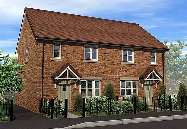 Thumbnail Semi-detached house for sale in Irvine Gardens, St Martins, Shropshire