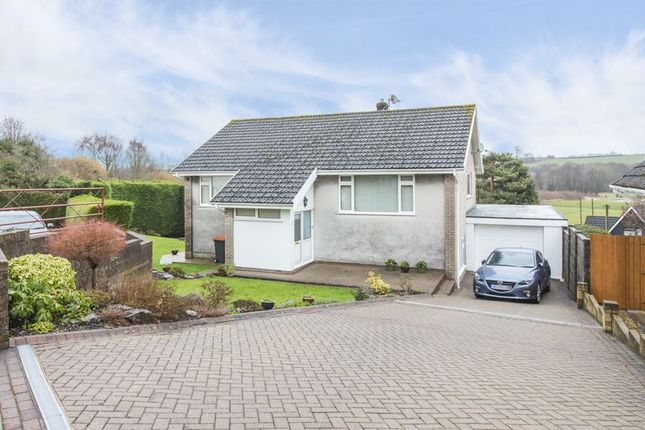 Thumbnail Detached house for sale in Uskvale Close, Caerleon, Newport