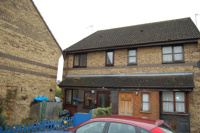 Thumbnail Semi-detached house for sale in Holden Close, Hertford