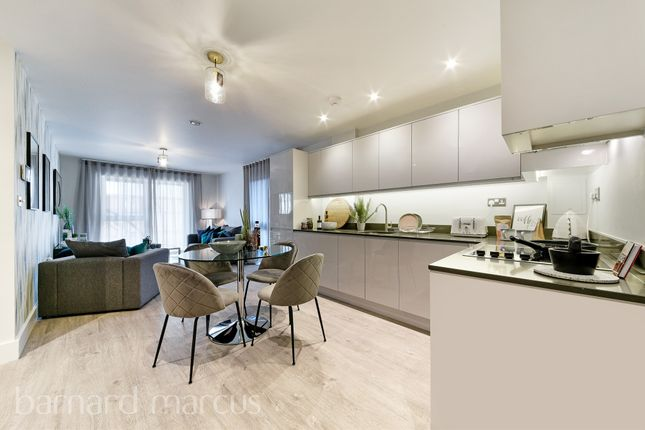 Thumbnail Flat for sale in Mill Green, London Road, Mitcham Junction, Mitcham
