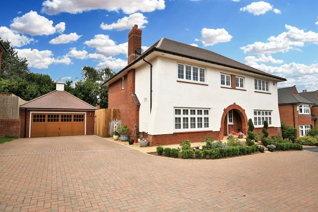 Thumbnail Detached house for sale in Dderwen Deg, Lisvane, Cardiff