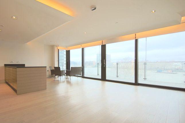 Thumbnail Flat to rent in Albert Embankment, Merano Residences, Nine Elms, London