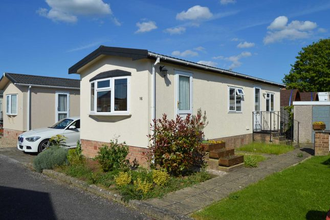 Thumbnail Mobile/park home for sale in Summerlands Park Close, Ilminster